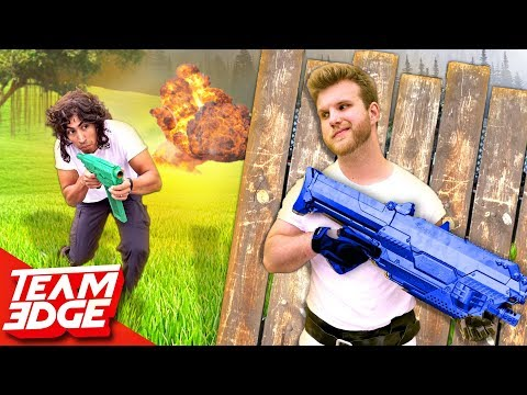 Fortnite Battle IRL!!