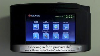 WRHS Employee Time Clock Tutorial - Kronos
