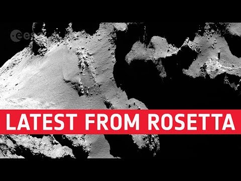 Latest from Rosetta