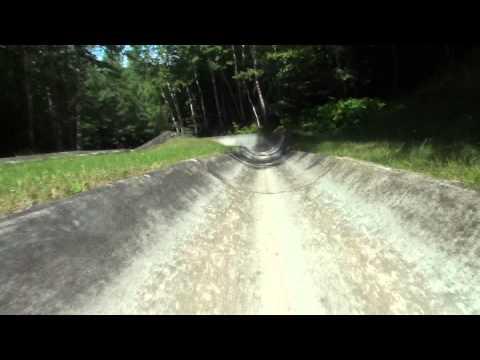 Lutsen Mountan Alpine Slide Crash Footage