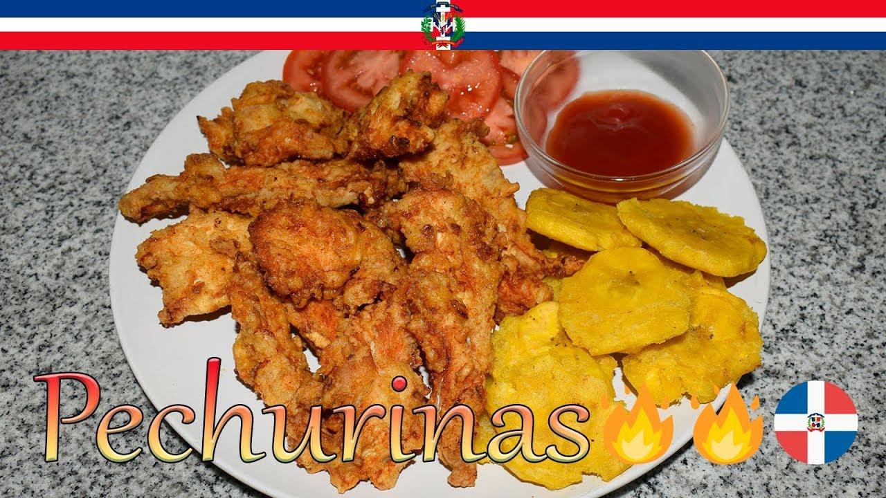 Receta Pechurinas Dominicana - Cocinando con Yolanda