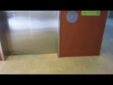 Parking garage elevator Ward Center -Honolulu