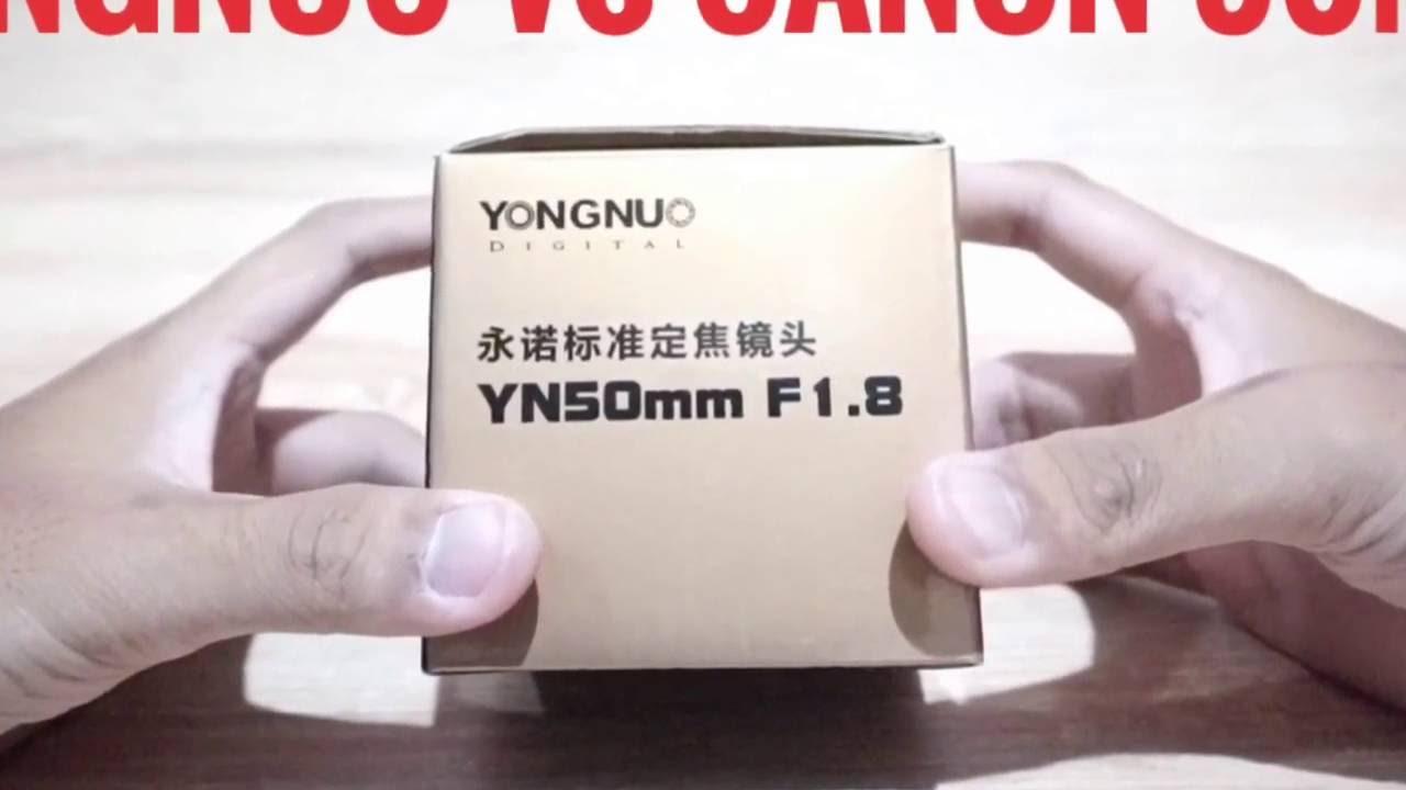 Lensa Yongnuo 50mm F18 Vs Canon Ii Youtube Fix Yn50mm For Nikon