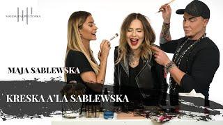 Kreska a'la SABLEWSKA / Makijaż na randkę | Pieczonka