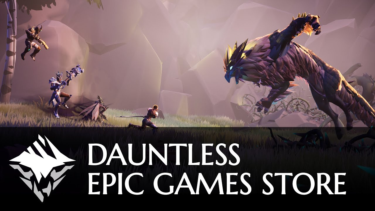 Dauntless launches on Xbox One, PlayStation 4, and the Epic