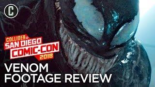 Venom Footage Review - SDCC 2018