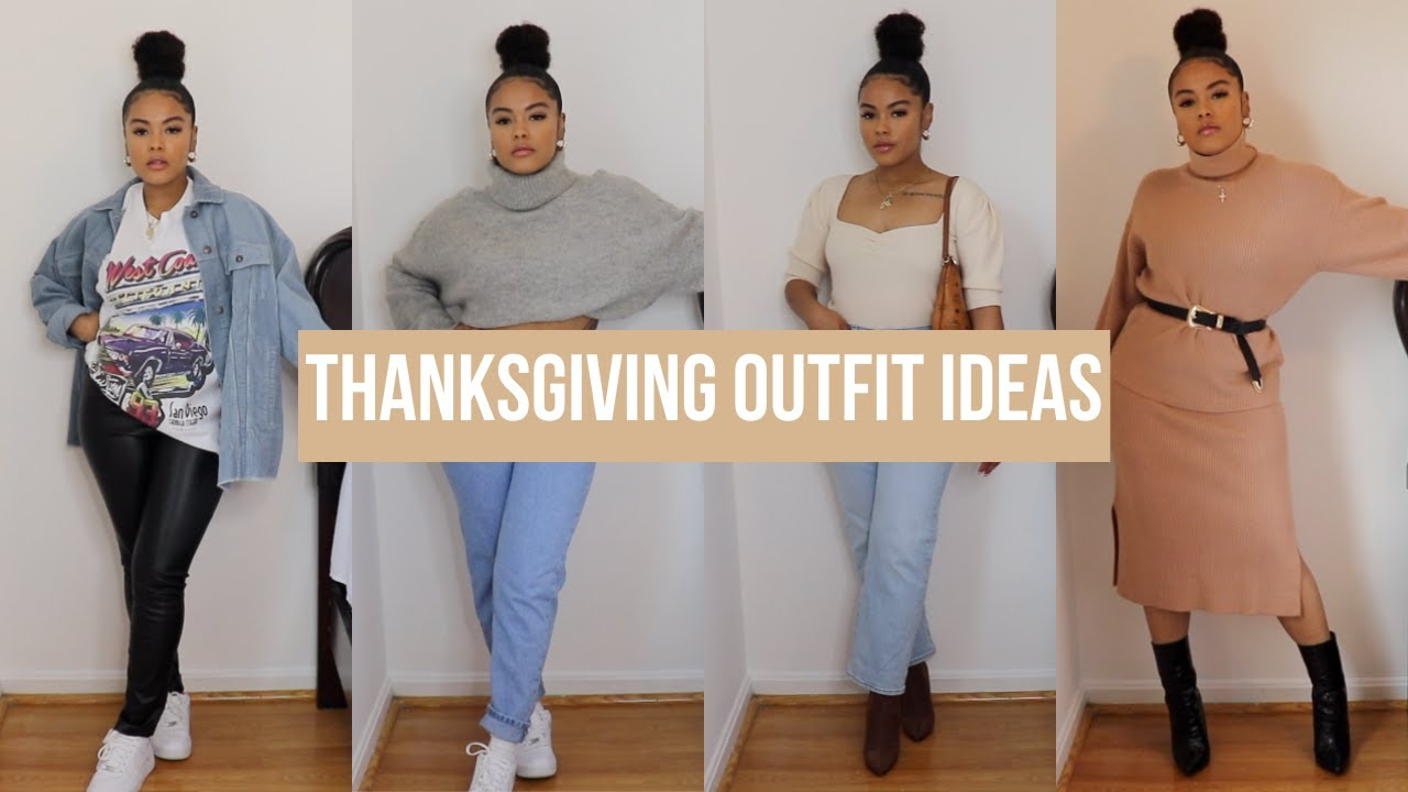 [VIDEO] - THANKSGIVING OUTFIT IDEAS 2019 (FALL OUTFIT IDEAS 2019) 1