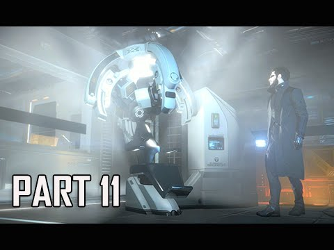 Deus Ex Mankind Divided Walkthrough Part 11 - The Chair (PC Ultra Let's Play)
