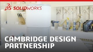 Cambridge Design Partnership Case Study - SOLIDWORKS