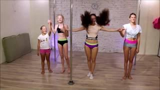 YUMA Pole Dance (детские группы по воздушной и пилонной акробатике)