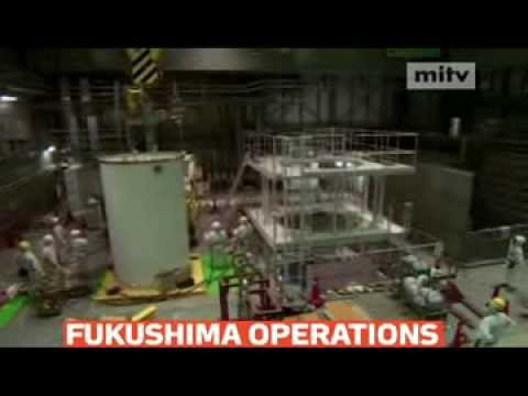Japanese nuclear engineers were preparing to move uranium and plutonium fuel rods at Fukushima