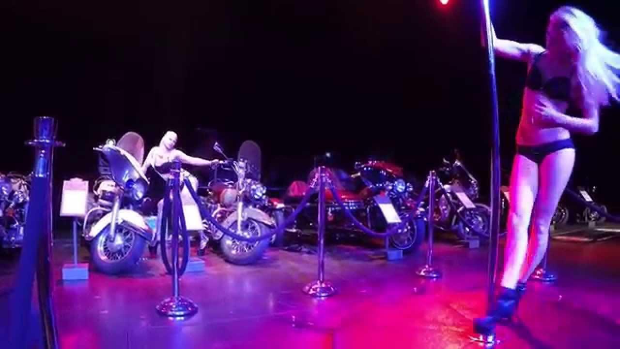 Tabledance Harley Dom Cologne 2015 - YouTube