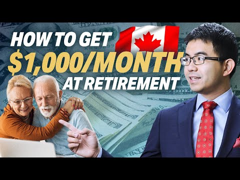 Retirement In Canada 2020 | CPP OAS GIS | How Much Can You Get For Retirement?