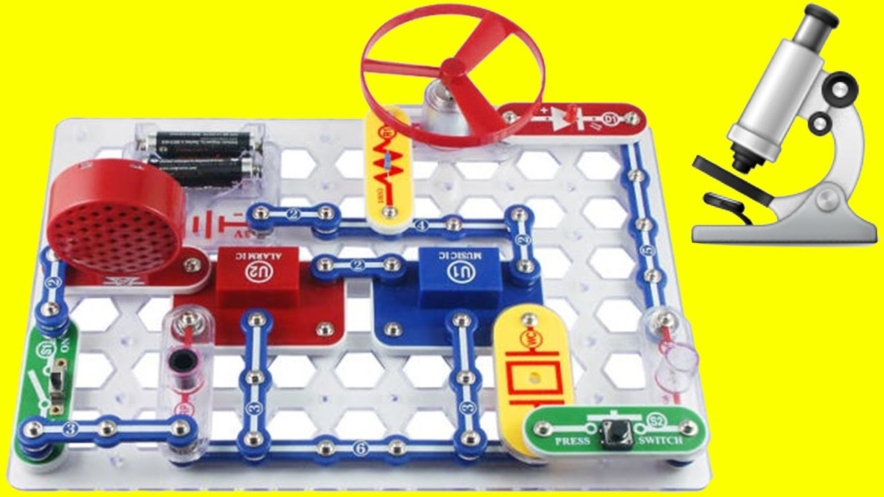 Learn How To Make Electronics With The Snap Circuit Junior Details About Educational Starter Kit Manual Fun Science For Kids Youtube