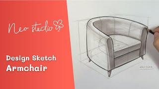 Armchair | Industrial & Product Design Sketching