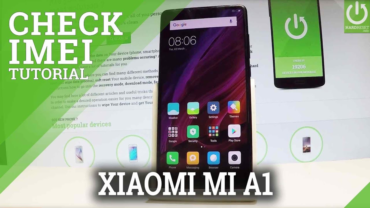 How to Check IMEI on XIAOMI Mi A1