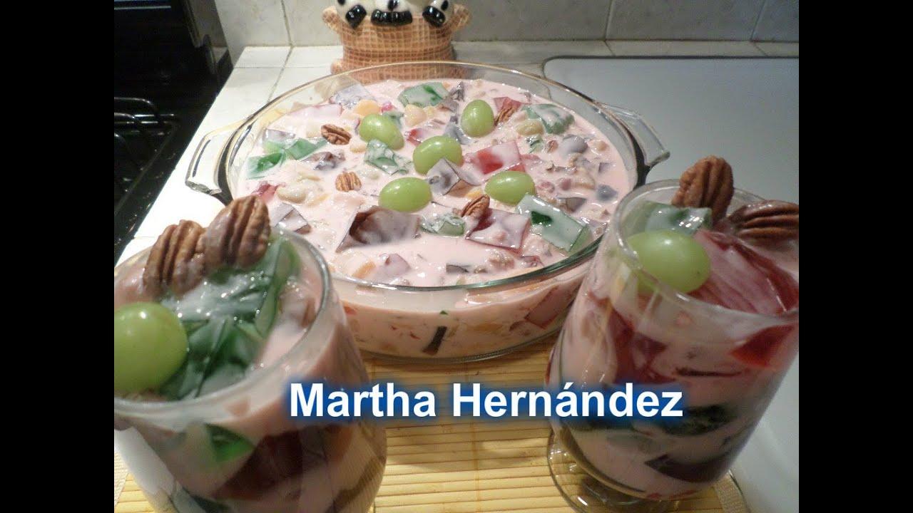 Repetici n gelatina cuadros con yoghurt y fruta youtube - Postres con frutas faciles ...