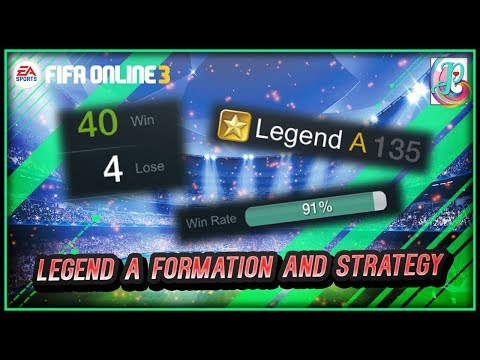 Ranking Mode Legend A Formation and Strategy - FIFA ONLINE 3