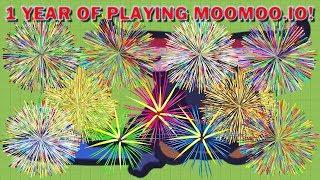 Moomoo.io - 1 Year of Playing Moomoo.io (Moomoo.io Best Moments)
