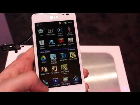 LG Optimus 3D Max hands-on video