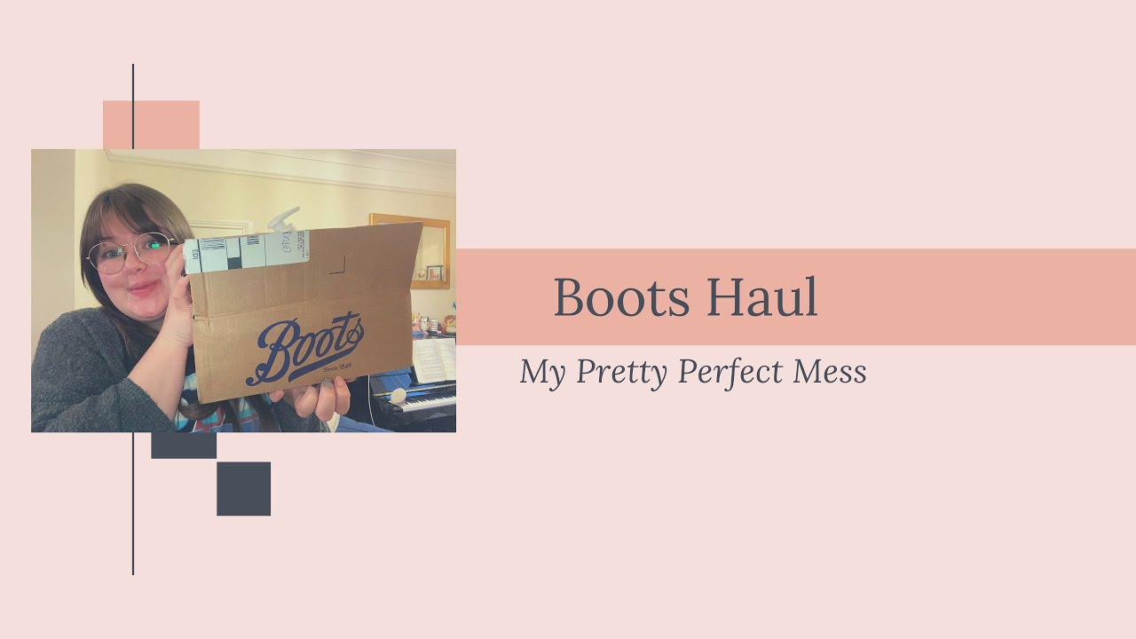 Boots Haul and Catch up chats!