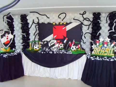 Decoração Vasco - Art Festas - YouTube abba1ee8ed163