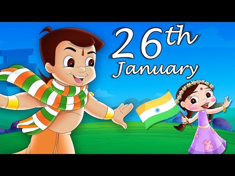 Chhota Bheem - Dholakpur Maha Mukabla | Republic Day Special Video