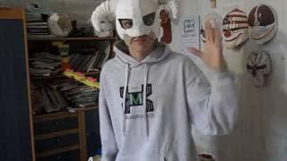 Как сделать гипсовый молд маски драконьего жреца из игры Skyrim