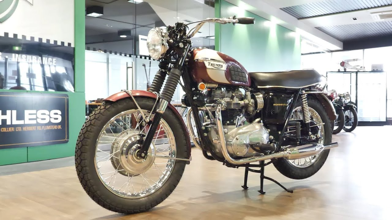 1970 Triumph T120R Bonneville 650cc Motorcycle - 2020 Shannons Winter Timed Online Auction