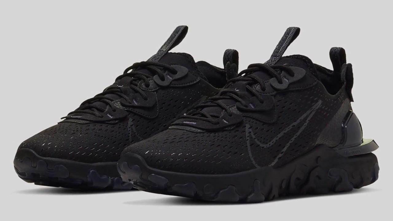 Nike React Vision Triple Black