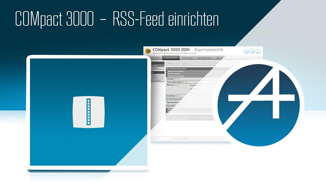 COMpact 9 - RSS-Feed einrichten