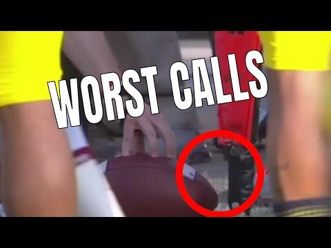 Worst Calls in