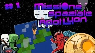 Minecraft - Missione Spaziale ApolLyon # 1 : In Missione per gli Stati Uniti!
