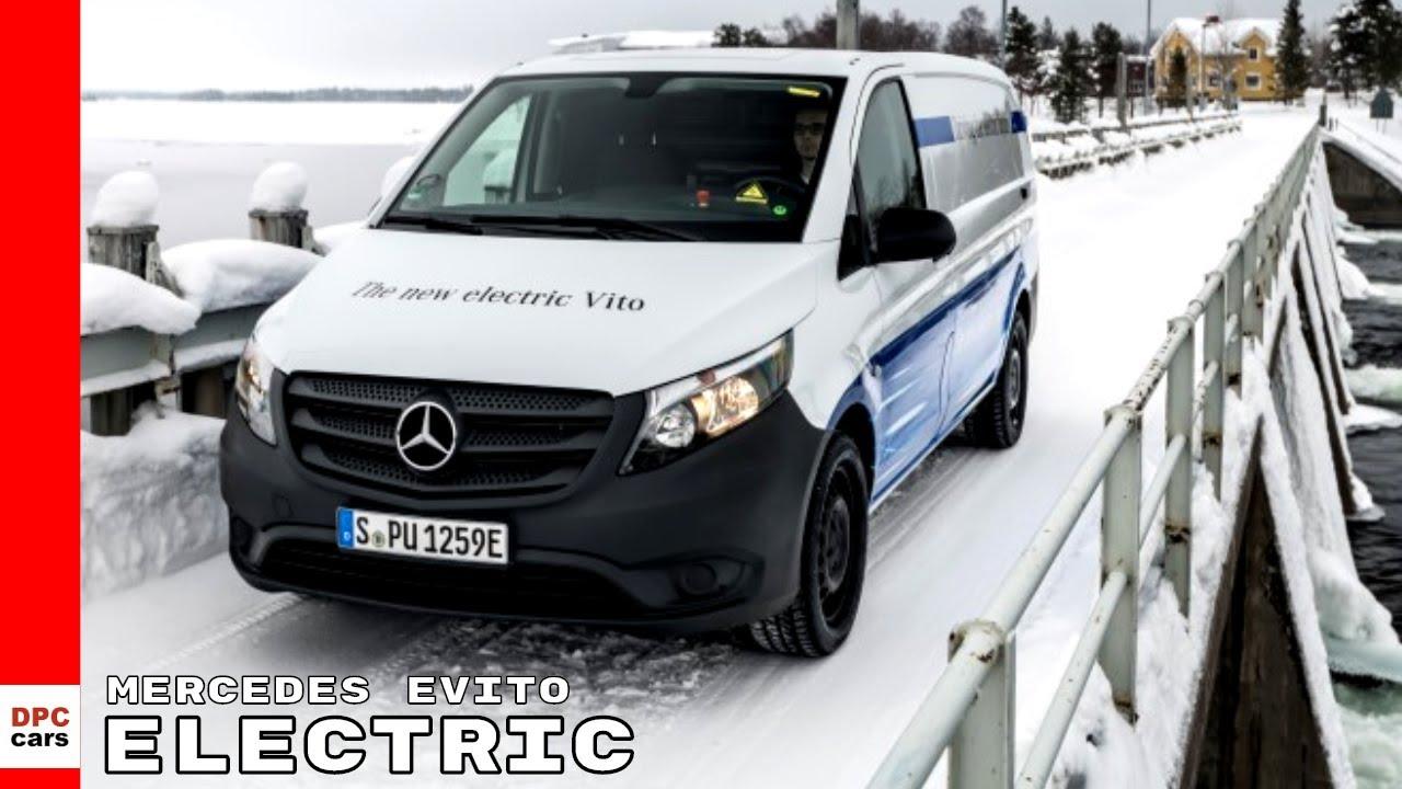 2018 Mercedes Evito Electric Vito Van Endurance Test Youtube