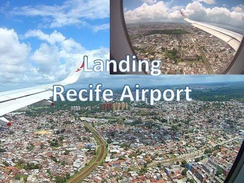 Landing Recife - Guararapes–Gilberto Freyre International Airport