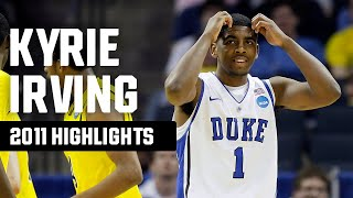 Kyrie Irving Highlights: 2011 NCAA Tournament Top Plays