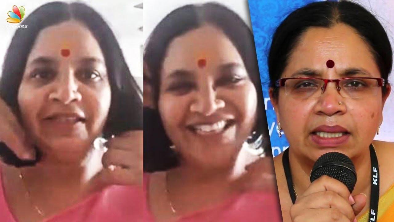 ആ വീഡിയോ മക്കൾക്ക് അയച്ചത് | Dubbing artist Bhagyalakshmi reacts against Social Media Attack | Video