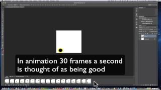 Photoshop CC la création d'un gif animé