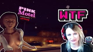 WTF?! HARDCORE PINK MOTEL. THE ADULT VIDEO GAME.