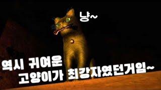 고양이로 마무리하는 그복~