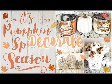 FALL DECORATE WITH ME🍂🍁