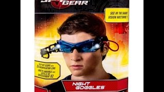 Spy Gear Night Vision Goggles - Cool!