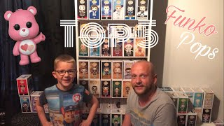 Funko Pop - Review Top 5 - From my 4 year old Son, Siem