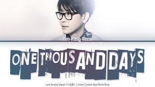 Lee Seung Hwan (이승환) - One Tho…