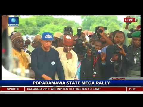 PDP Adamawa Kicks Off Atiku Campaign Pt.3 |Live Event|