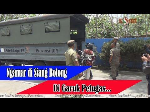 Ngamar Siang Bolong, Pasangan Mesum Digaruk Petugas