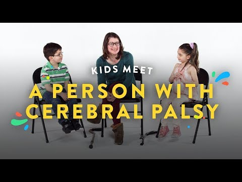 Kids Meet a Person With Cerebral Palsy   Kids Meet   HiHo Kids