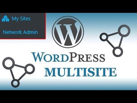 How To Setup WordPress Multisite | How to create multiple website in single wordpress