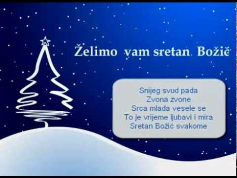 sretan božić tekst čestitke SRETAN BOŽIĆ SVAKOME  TEKST [LYRICS]   YouTube sretan božić tekst čestitke