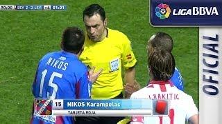 Tarjeta roja directa a Nikos Karabelas